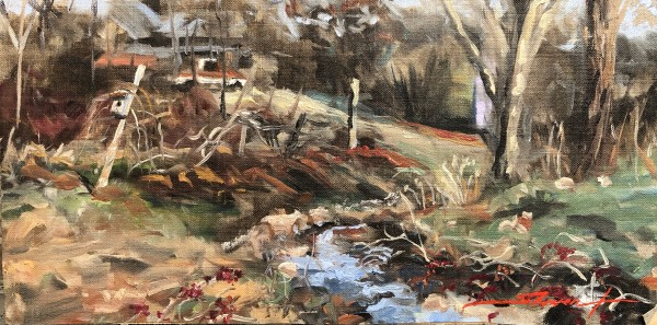 Winter Valley II by Sharon Rusch Shaver