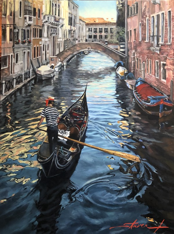 Ride the Canals by Sharon Rusch Shaver