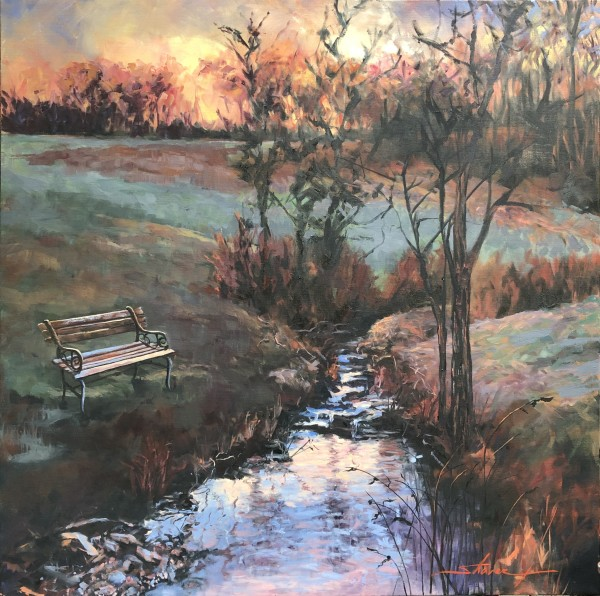 Evening by Sharon Rusch Shaver