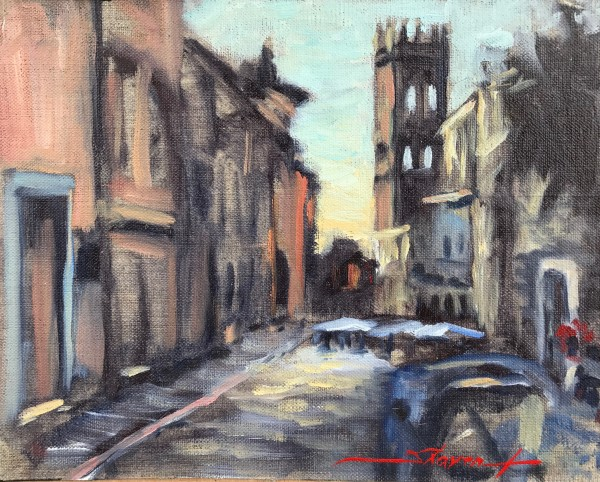 Assisi Plein by Sharon Rusch Shaver