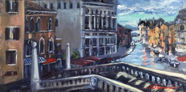 View of Venice by Sharon Rusch Shaver
