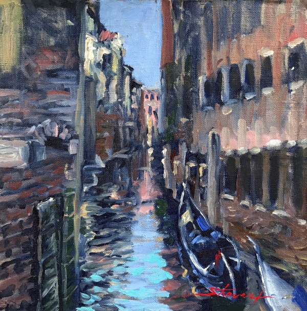 The Gondolas by Sharon Rusch Shaver