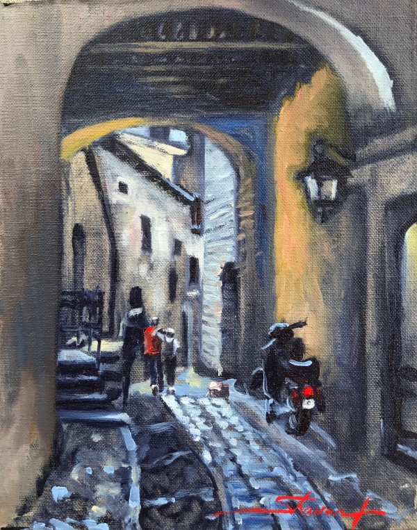 The Alley by Sharon Rusch Shaver