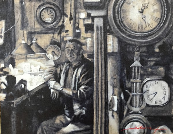 Time by Sharon Rusch Shaver