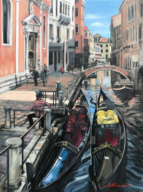 Morning in Venice by Sharon Rusch Shaver