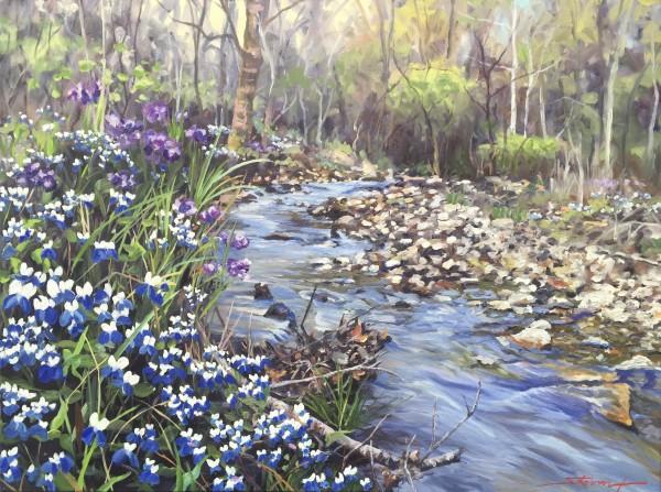 """""""When Blue Eyes Rein"""" by Sharon Rusch Shaver"""