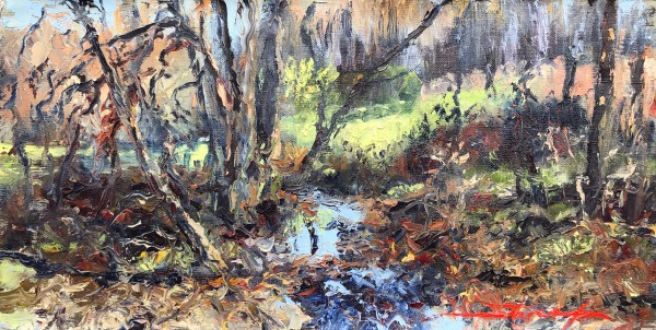 Fall Plein Air by Sharon Rusch Shaver