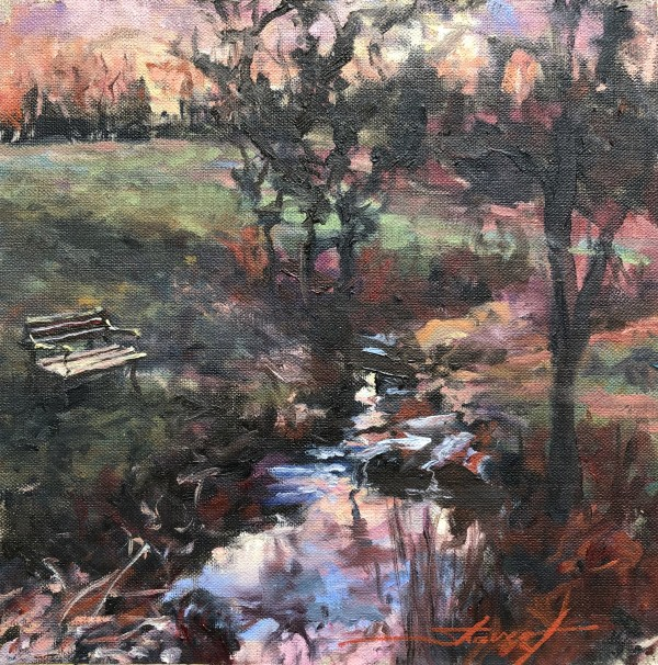 Evening Study by Sharon Rusch Shaver