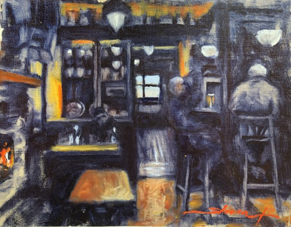 Pub in Strand Hill by Sharon Rusch Shaver