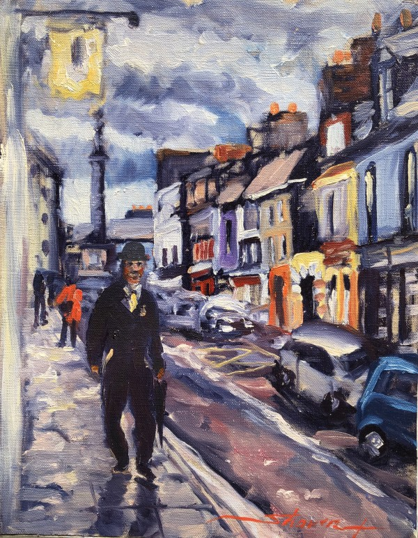 Bowler Hat in Ireland by Sharon Rusch Shaver