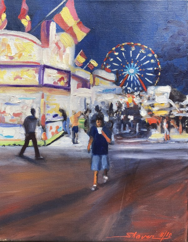 County Fair Lights by Sharon Rusch Shaver