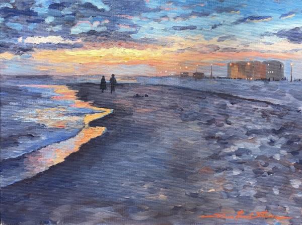 Beach Bonding by Sharon Rusch Shaver