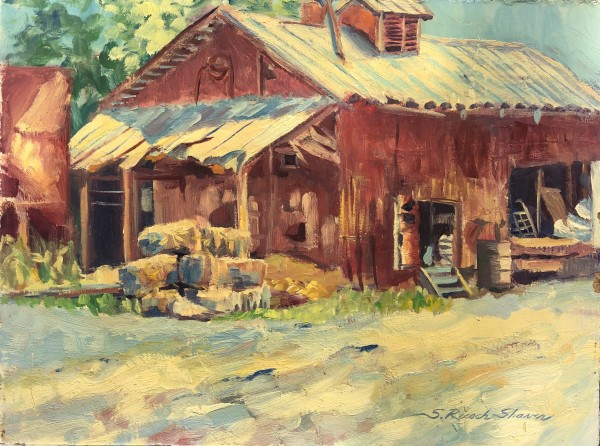 Plein Early Hendersonville by Sharon Rusch Shaver