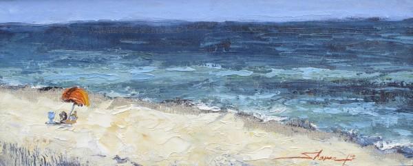 Beach Day by Sharon Rusch Shaver