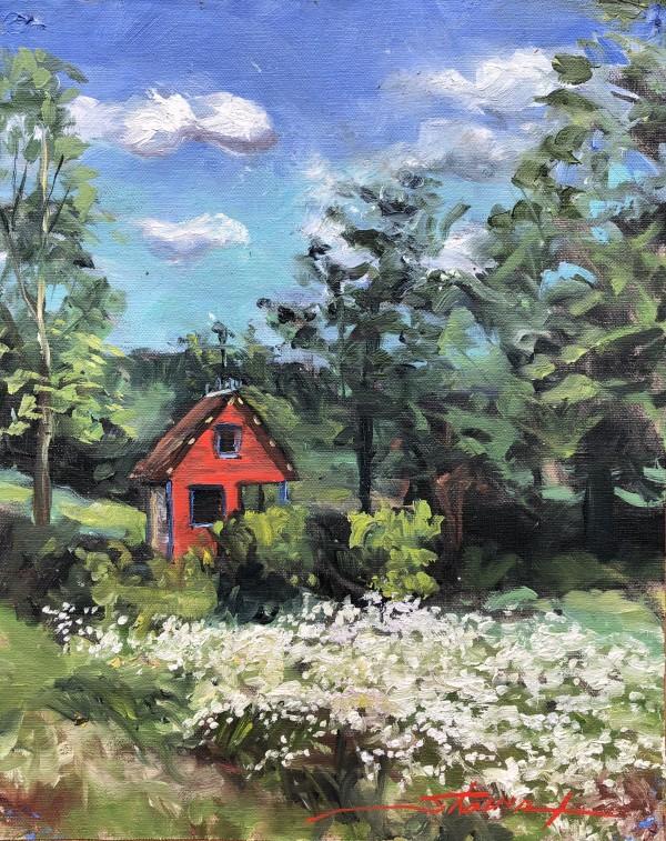 Plein Meadow by Sharon Rusch Shaver