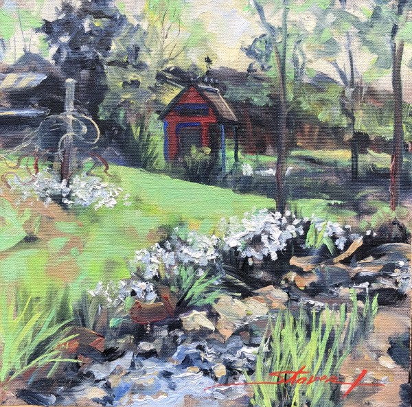 Plein Spring Finale by Sharon Rusch Shaver