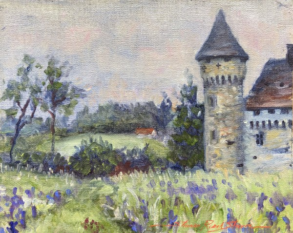 Chateau Spring by Sharon Rusch Shaver
