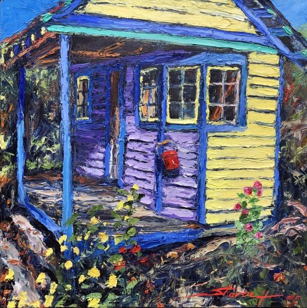 Summer Garden House by Sharon Rusch Shaver