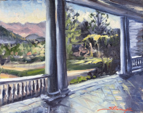 The Stanley Porch by Sharon Rusch Shaver
