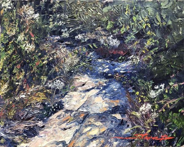 Plein Summer Creek by Sharon Rusch Shaver