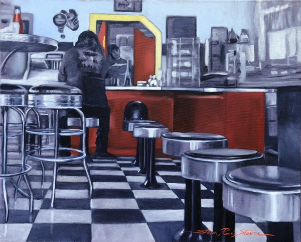 Diner by Sharon Rusch Shaver