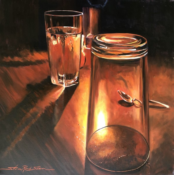 Glasses by Sharon Rusch Shaver