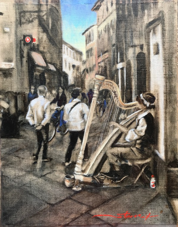 Harp by Sharon Rusch Shaver
