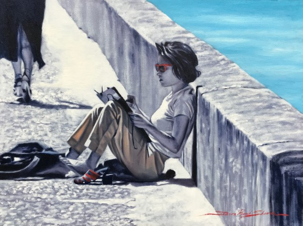 Artist in Arles by Sharon Rusch Shaver