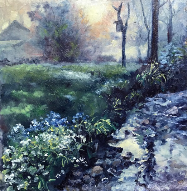 Misty Dawn by Sharon Rusch Shaver