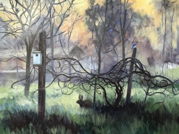 Golden Mist by Sharon Rusch Shaver