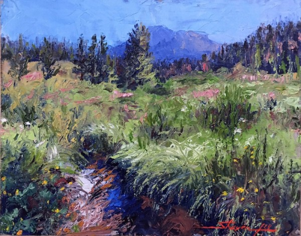 In the Mountains by Sharon Rusch Shaver