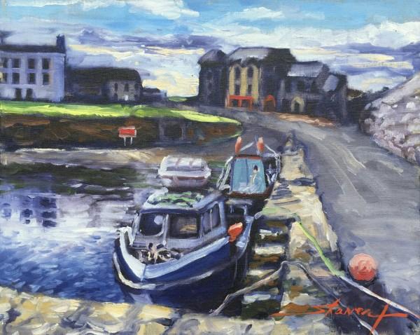 Plein Ireland Harbor by Sharon Rusch Shaver