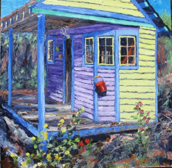 Garden House by Sharon Rusch Shaver