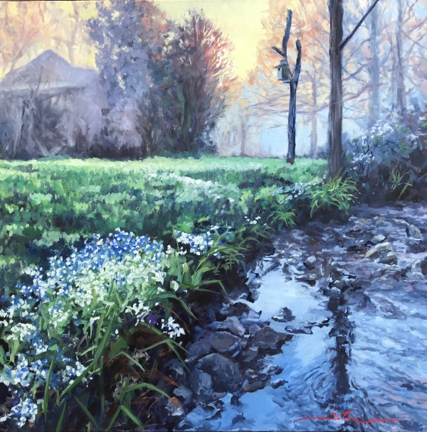 Misty Spring by Sharon Rusch Shaver