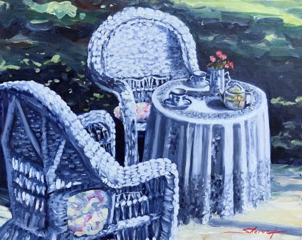 Morning Tea by Sharon Rusch Shaver
