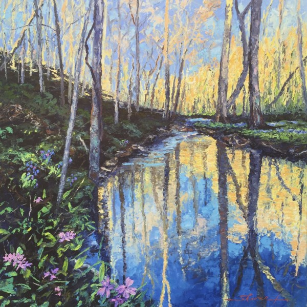 Springs Calling by Sharon Rusch Shaver