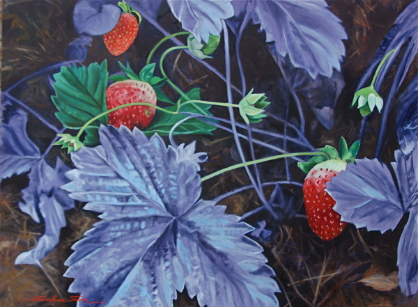 Strawberry Patch by Sharon Rusch Shaver