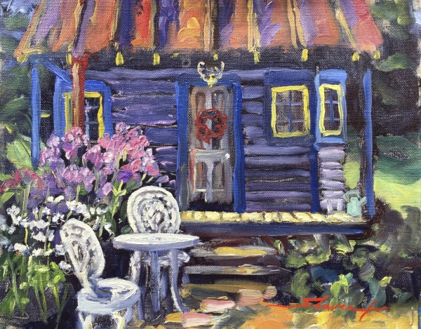 Summer Garden House by Sharon Rusch Shaver