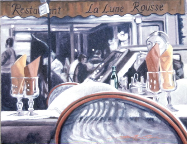 The Paris Meal by Sharon Rusch Shaver