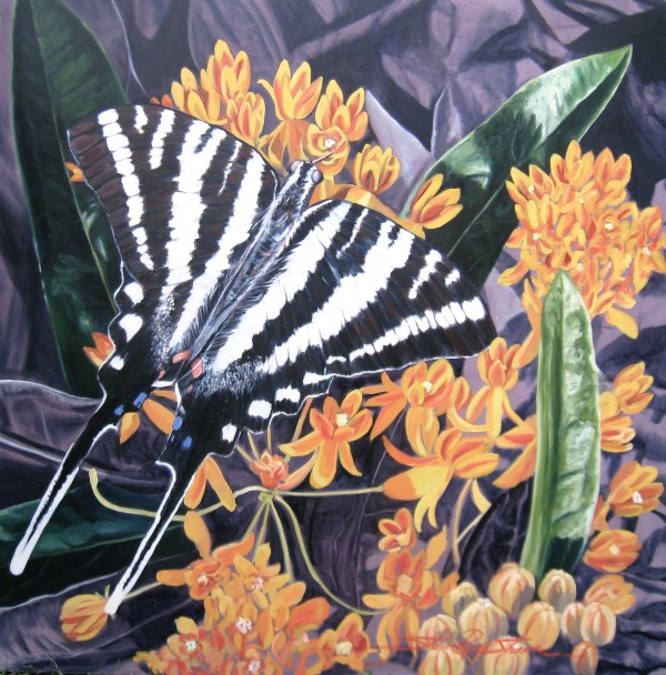 Zebra Swallowtail by Sharon Rusch Shaver