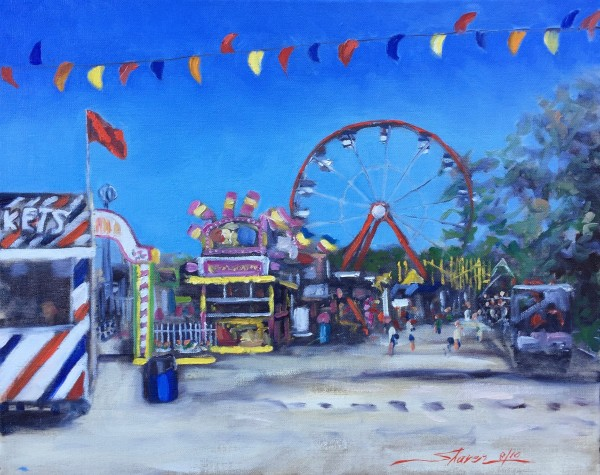 At the Fair by Sharon Rusch Shaver