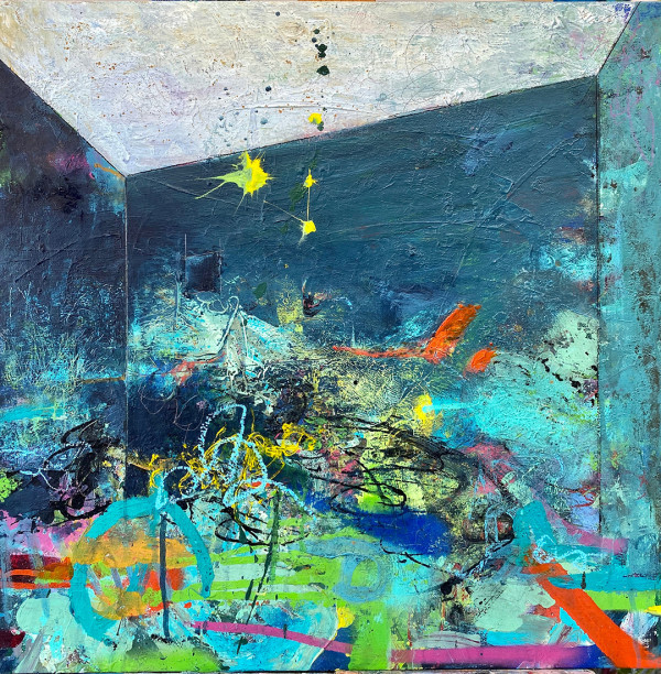 Rooms-Aquarium by Theresa Vandenberg Donche