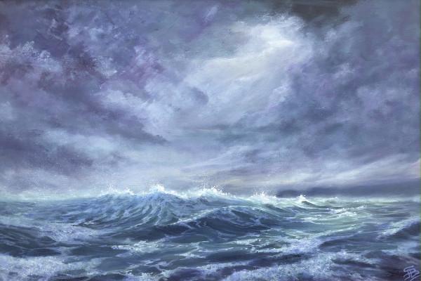 Skirting the overfalls by Sarah Jane Brown
