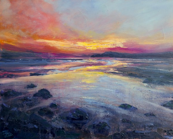 A slow burn by Sarah Jane Brown