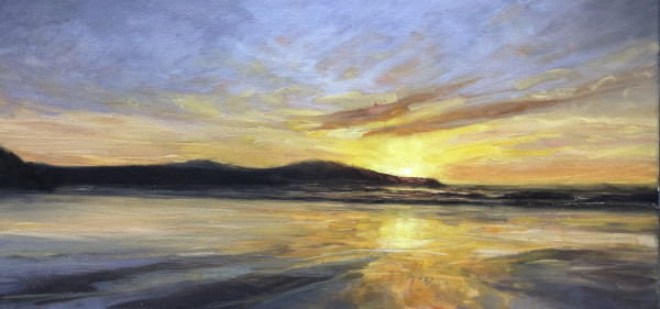 Exhaling the day by Sarah Jane Brown