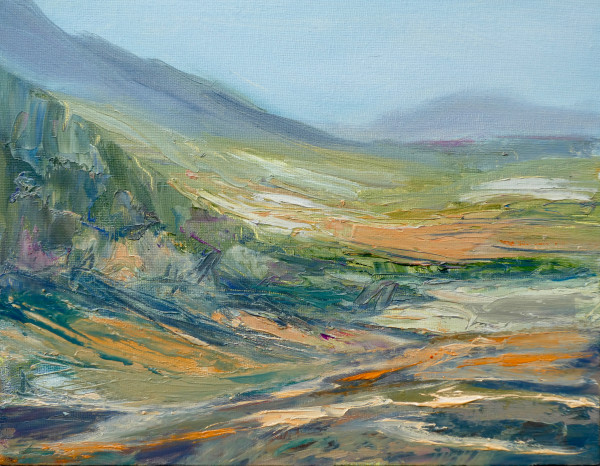 Evening across the Valley by Sarah Jane Brown