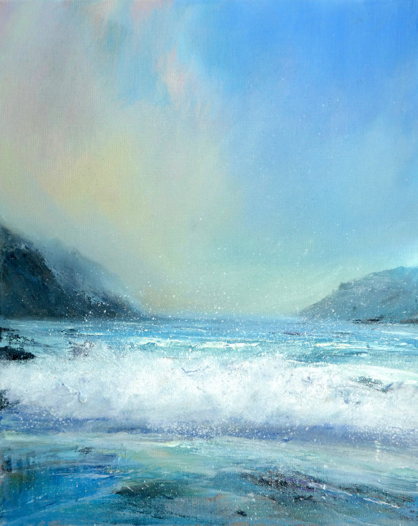 The smell of the sea by Sarah Jane Brown