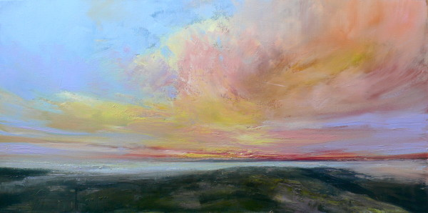 Flirtatious sky by Sarah Jane Brown