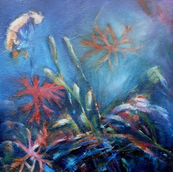 Fields edge by Sarah Jane Brown
