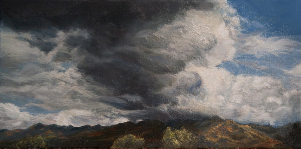 Angeles Forest Storm Wide by Katherine Kean